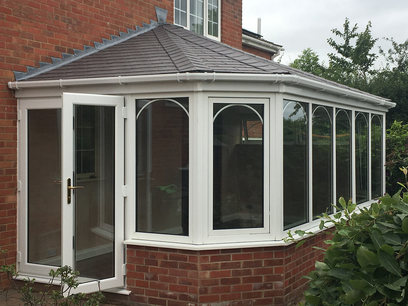 Victorian tiled conservatory roof Northampton