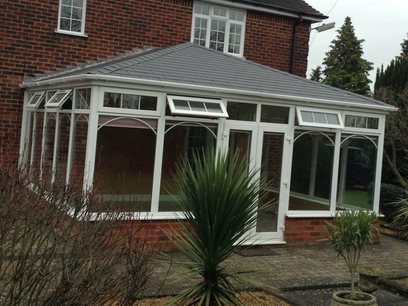 Edwardian solid roof conservatory, Northampton