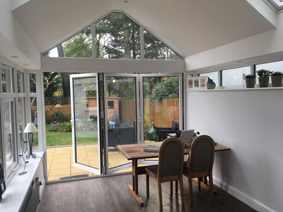 Conservatory roof internal finish, Northampton
