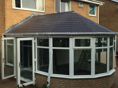 Victorian conservatory roof replacement, Northamptonshire