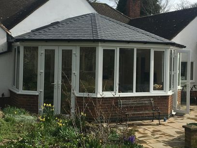 Victorian replacement conservatory roof, Northampton