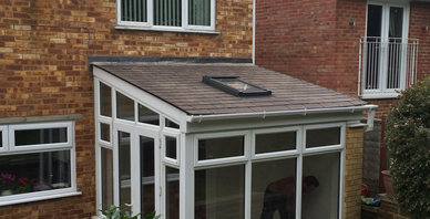 Roofing a conservatory