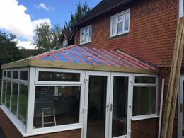 New conservatory roof Northamptonshire